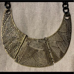 Egyptian Brass Necklace